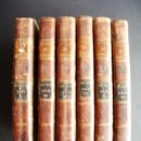 Libros antiguos: 1801-DON QUIJOTE. DON QUICHOTTE. CERVANTES. 6 TOMOS. FLORIÁN. Lote 27295004