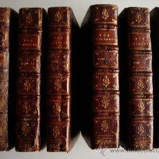 Libros antiguos: 1741-DON QUICHOTTE. DON QUIJOTE. 6 TOMOS EN FRANCÉS. 24 GRABADOS.. Lote 26363266