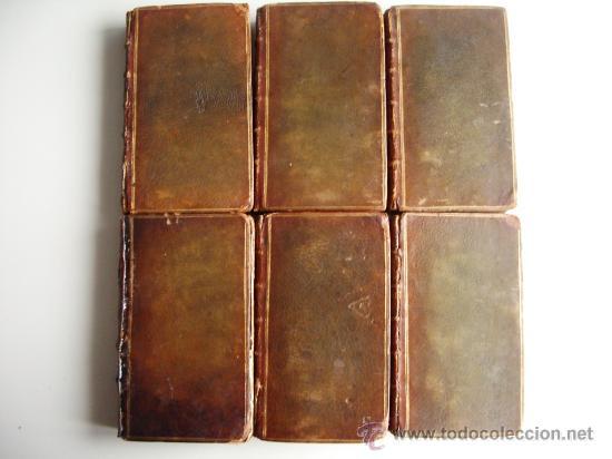 Libros antiguos: 1741-DON QUICHOTTE. DON QUIJOTE. 6 TOMOS EN FRANCÉS. 24 GRABADOS. - Foto 2 - 26363266