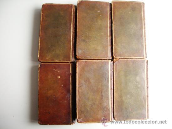 Libros antiguos: 1741-DON QUICHOTTE. DON QUIJOTE. 6 TOMOS EN FRANCÉS. 24 GRABADOS. - Foto 3 - 26363266
