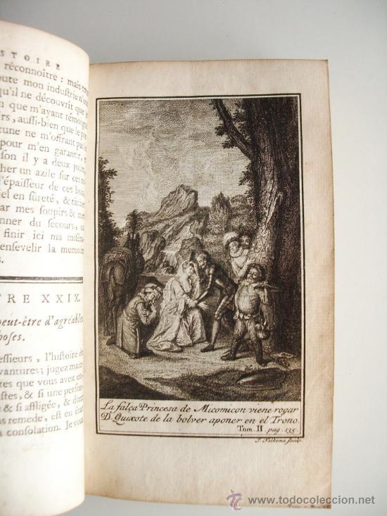 Libros antiguos: 1741-DON QUICHOTTE. DON QUIJOTE. 6 TOMOS EN FRANCÉS. 24 GRABADOS. - Foto 18 - 26363266