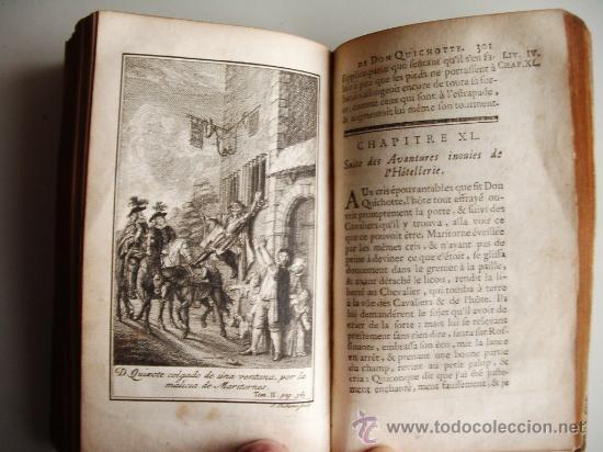 Libros antiguos: 1741-DON QUICHOTTE. DON QUIJOTE. 6 TOMOS EN FRANCÉS. 24 GRABADOS. - Foto 19 - 26363266