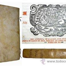 Libros antiguos: 1674 - PRADO ESPIRITUAL - SIGLO DE ORO ESPAÑOL - RARA JOYA. Lote 19919807