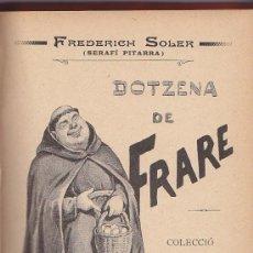 Libros antiguos: DOTZENA DE FRARE-SERAFI PITARRA- COLECCIO DE CONTES ILUSTRATS PER M. MOLINE. Lote 26858924
