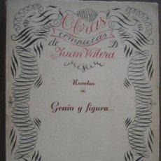 Libros antiguos: GENIO Y FIGURA. VALERA, JUAN. 1922. LIBRERÍA ENRIQUE PRIETO. Lote 20184236