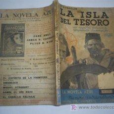 Libros antiguos: LA ISLA DEL TESORO STEVENSON JUVENTUD 1935 FOTOS PELÍCULA RM43645. Lote 24699455