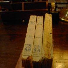 Libros antiguos: LA VUELTA AL MUNDO DE UN NOVELISTA, VICENTE BLASCO IBAÑEZ, 3 TOMOS, PROMETEO, 1924. Lote 21099546
