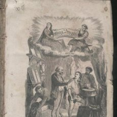 Libros antiguos: LIBRO ANTIGUO.LA HONRA Y EL TRABAJO. MANUEL FERNANDEZ Y GONZALEZ.BARCELONA.1867. ILUSTRADO.MUGICA.. Lote 26717779