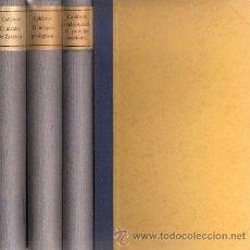 Libros antiguos: CALDERÓN DE LA BARCA – 3 VOL – AÑO 1881. Lote 27345814