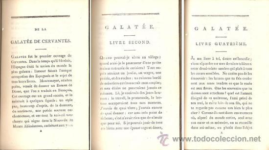 Libros antiguos: CERVANTES – GALATEA – Año 1798 - Foto 4 - 27441924