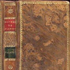 Libros antiguos: CERVANTES – GALATEA – AÑO 1799. Lote 27441925