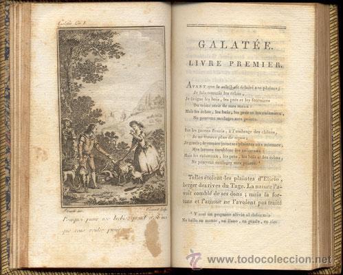 Libros antiguos: CERVANTES – GALATEA – Año 1799 - Foto 3 - 27441925
