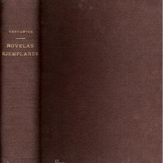 Libros antiguos: CERVANTES – NOVELAS EJEMPLARES - AÑO 1844. Lote 27507908