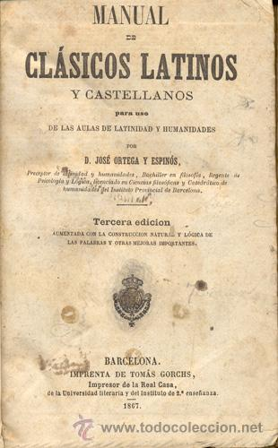 Libros antiguos: CLÁSICOS LATINOS y CASTELLANOS – Año 1867 - Foto 2 - 27419965