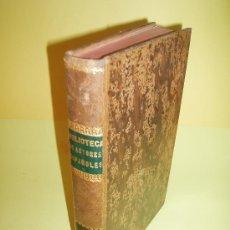 Libros antiguos: 1851 - BIBLIOTECA DE AUTORES ESPAÑOLES - NOVELISTAS POSTERIORES A CERVANTES - 1ª ED.. Lote 21974544