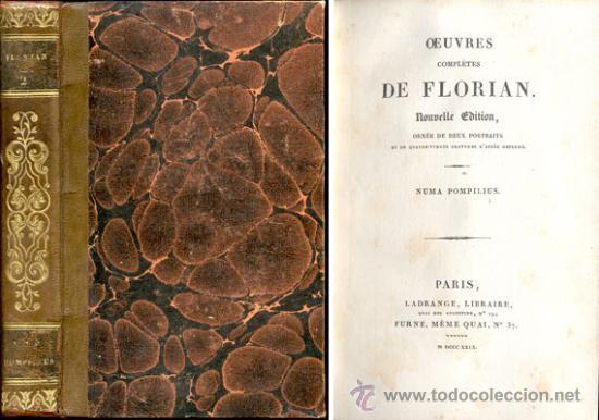 NUMA POMPILIUS – AÑO 1829 (Libros antiguos (hasta 1936), raros y curiosos - Literatura - Narrativa - Clásicos)
