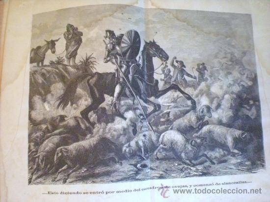 Libros antiguos: QUIJOTE DE LA MANCHA (1881) - Foto 5 - 27292413