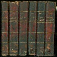 Libros antiguos: EL INGENIOSO HIDALGO DON QUIJOTE DE LA MANCHA. COMENTADO POR DON DIEGO CLEMENCIN. 6 TOMOS. 1833.. Lote 27208069