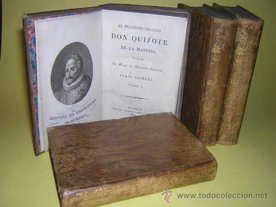 1829 - CERVANTES - DON QUIJOTE DE LA MANCHA - RAMOS Y COMPAÑÍA - COMPLETO (Libros antiguos (hasta 1936), raros y curiosos - Literatura - Narrativa - Clásicos)