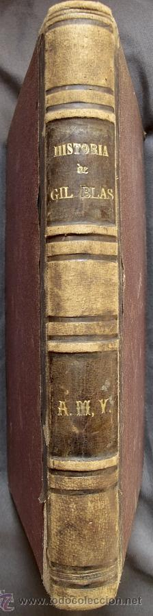 GIL BLAS DE SANTILLANA. TRAD. PADRE ISLA. BARCELONA, LUIS TASSO, 1874 (Libros antiguos (hasta 1936), raros y curiosos - Literatura - Narrativa - Clásicos)