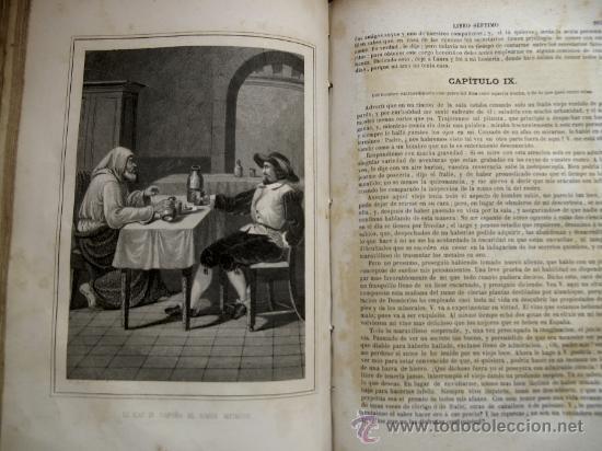 Libros antiguos: GIL BLAS DE SANTILLANA. TRAD. PADRE ISLA. BARCELONA, LUIS TASSO, 1874 - Foto 5 - 26495744