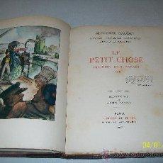 Old books - ALPHONSE DAUDET- LE PETIT CHOSE, HISTOIRE D´UN ENFANT, 1868 - 24794143