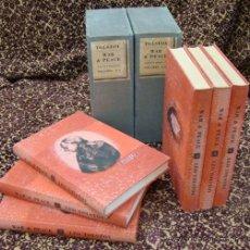 Libros antiguos: TOLSTOI. WAR AND PEACE. ED. LIMITADA. ILUSTRADA . Lote 24805625