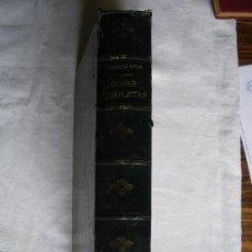 Libros antiguos: OBRAS COMPLETAS DEL DUQUE DE RIVAS. 1884. GRAN FORMATO.. Lote 26406540