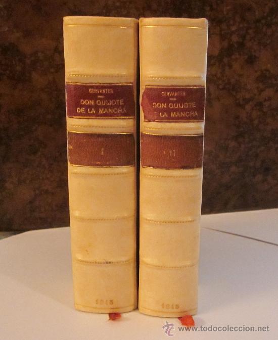LIBRO ANTIGUO. CERVANTES. EL INGENIOSO HIDALGO DON QUIJOTE DE LA MANCHA. 1844-1845. QUIXOTE. MELLADO (Libros antiguos (hasta 1936), raros y curiosos - Literatura - Narrativa - Clásicos)
