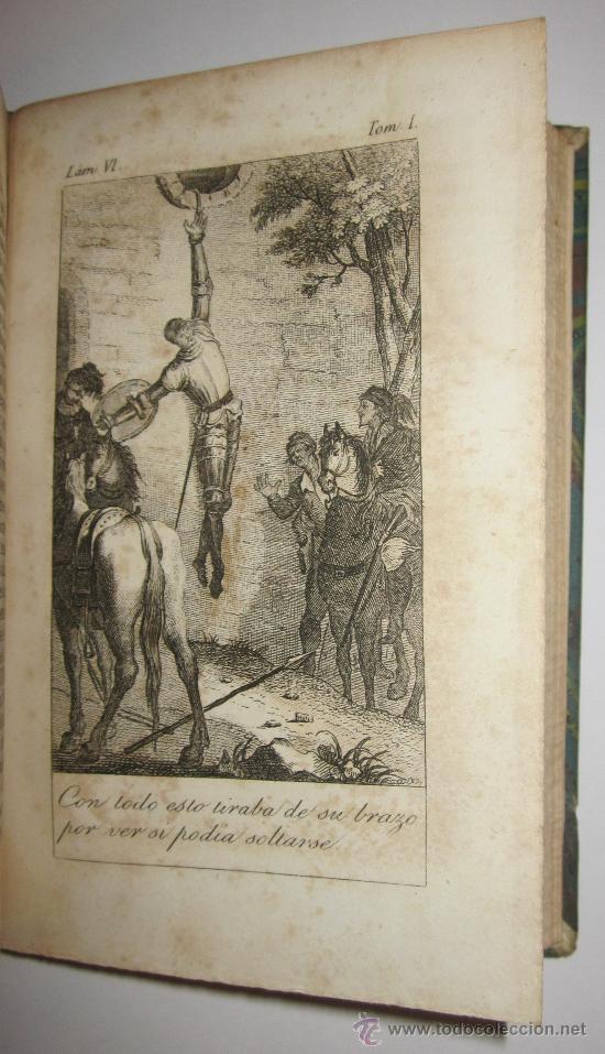 Libros antiguos: Libro antiguo. Cervantes. El ingenioso Hidalgo Don Quijote de la Mancha. 1844-1845. Quixote. Mellado - Foto 3 - 26616798