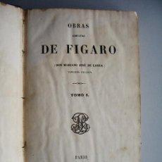 Libros antiguos: 1866-OBRAS COMPLETAS DE MARIANO JOSÉ DE LARRA-FIGARO-. Lote 27150807