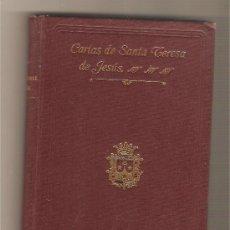 Libros antiguos: CARTAS DE LA SANTA MADRE TERESA DE JESÚS. Lote 27919430