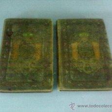 Libros antiguos: DON QUIJOTE DE LA MANCHA 2 TOMOS EDICION DE 1859 . EDICION ILUSTRADA. RAROS. Lote 28333600