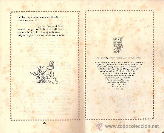 Libros antiguos: ENEIDA / VIRGILI / TRADUCCIÓ MOSSEN LLORENÇ RIBER/ VOLUM II / EDITORIAL CATALANA 1918 - Foto 3 - 28446317