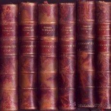 Libros antiguos: MIGUEL DE CERVANTES. EL INGENIOSO HIDALGO DON QUIJOTE DE LA MANCHA. EDIC. Y NOTAS DE FCO. RDZ. MARÍN. Lote 29156592