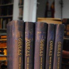 Libros antiguos: 1869.- OBRAS LITERARIAS DE LA SEÑOA DOÑA GERTRUDIS GOMEZ DE AVELLANEDA. . Lote 29283477