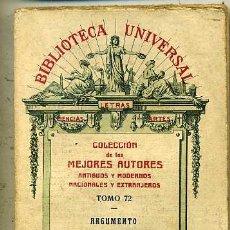 Libros antiguos: DUQUE Y MERINO : ARGUMENTO DE AMADÍS DE GAULA (1926). Lote 29334006
