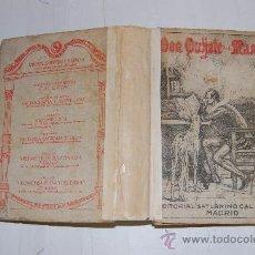 Libros antiguos: EL INGENIOSO HIDALGO DON QUIJOTE DE LA MANCHA.MIGUEL DE CERVANTES SAAVEDRA RM55253. Lote 29406730