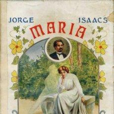 Libros antiguos: JORGE ISAACS : MARÍA (SOPENA). Lote 29461550
