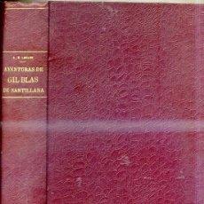 Libros antiguos: LESAGE : GIL BLAS DE SANTILLANA (HYMSA, 1932) ILUSTRADO. Lote 29740451