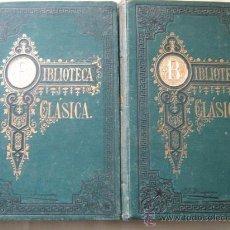 Libros antiguos: LOS ANALES DE CAYO CORNELIO TÁCITO (2 VOLÚMENES) 1879. Lote 29771311