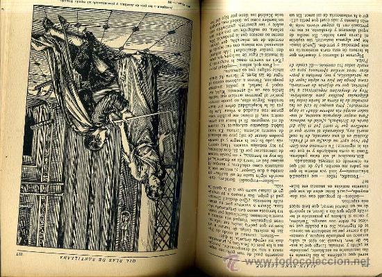 Libros antiguos: LESAGE : GIL BLAS DE SANTILLANA (HYMSA, 1932) ILUSTRADO - Foto 2 - 29740451