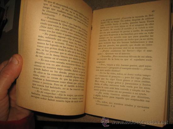 Libros antiguos: LOS CABALLEROS DE BOIS-DORE NOVELA 2 TOMOS .JORGE SAND.COLECCION UNIVERSAL 1922 - Foto 5 - 30111265