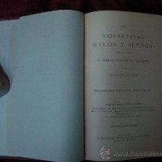 Libros antiguos: NOVELISTAS MALOS Y BUENOS. POR P. L. DE GUEVARA. 1910.BIBLIOFILIA.CRITICA.. Lote 30138408