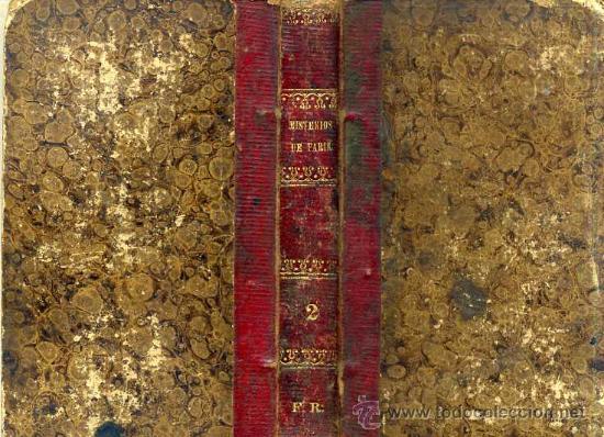 EUGENIO SUE : LOS MISTERIOS DE PARIS, TOMO II (LA HABANA, 1843) (Libros antiguos (hasta 1936), raros y curiosos - Literatura - Narrativa - Clásicos)
