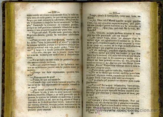 Libros antiguos: EUGENIO SUE : LOS MISTERIOS DE PARIS, TOMO II (LA HABANA, 1843) - Foto 2 - 30288514