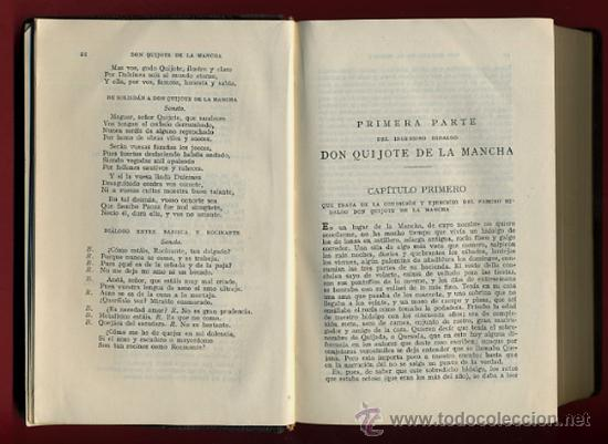 Libros antiguos: LIBRO, DON QUIJOTE DE LA MANCHA, EDITORIAL CALLEJA , ORIGINAL - Foto 3 - 30358814