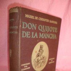 Libros antiguos: DON QUIJOTE DE LA MANCHA - CERVANTES - AÑO 1930 - EDICION ILUSTRADA POR DORE.. Lote 30613816