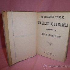 Libros antiguos: DON QUIJOTE DE LA MANCHA - CERVANTES - AÑO 1915.. Lote 30676547
