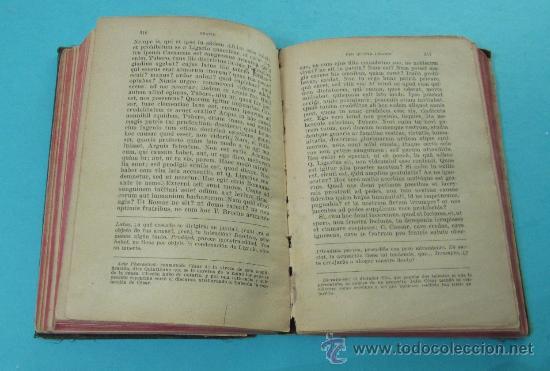 Libros antiguos: AUTORES SELECTOS LATINOS. TEXTOS EN LATÍN Y EN CASTELLANO - Foto 2 - 31093619